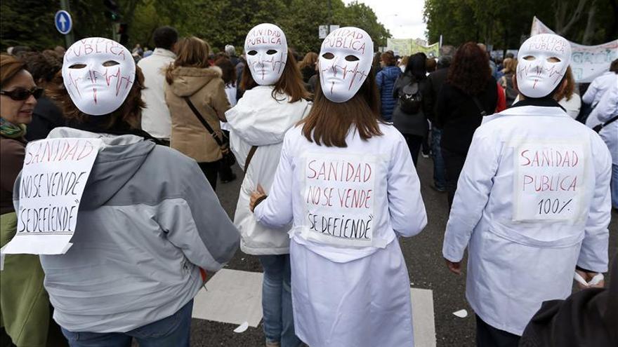 Liberados diez de los catorce detenidos por ocupar  un centro de salud en Vallecas (Madrid)