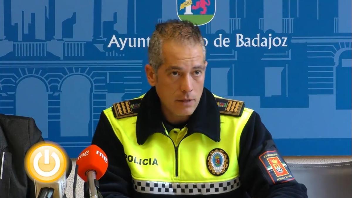 Rubén Muñoz, superintendente de la Policía Local de Badajoz