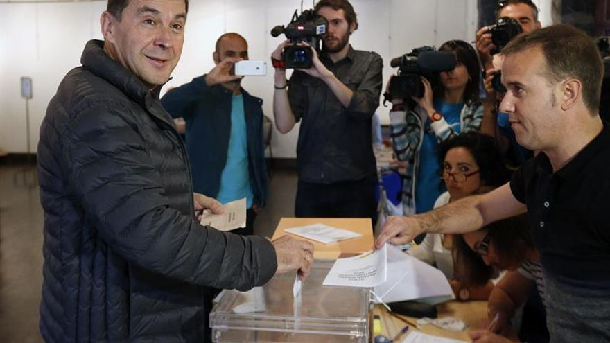 """Otegi anima a votar a la ciudadanía vasca """"como ella misma es"""""""
