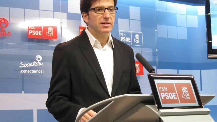 """Moscoso del Prado (PSN) dice que """"en Navarra hay un intenso deseo de cambio"""" y que """"pactar con UPN no es el camino"""""""