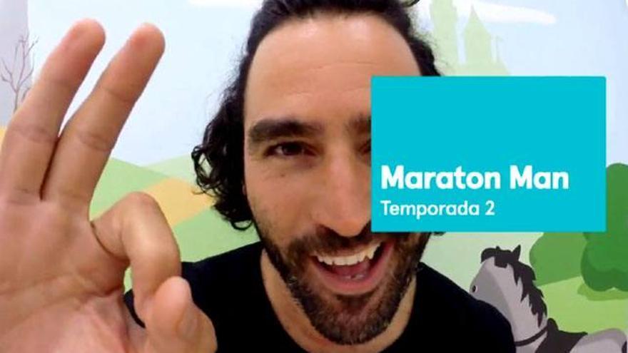 Raúl Gómez anuncia 'en 2 minutos' que 'Maratón Man' tendrá segunda temporada en #0