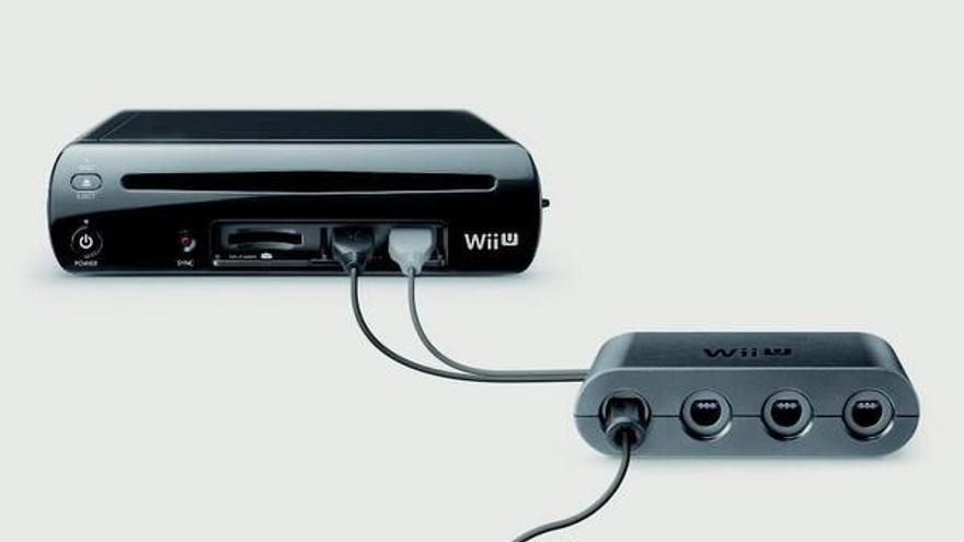 Adaptador de mandos GameCube para Wii U DRL