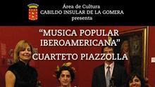 Cartel del cuarteto Piazzola