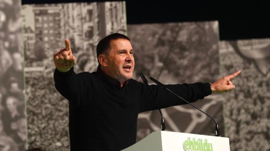 Otegi: fascistas ganaron la guerra y la Transición, pero no ganarán el relato