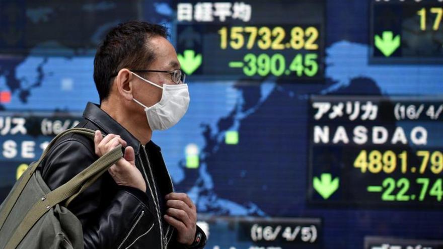 Tokio abre con una caída del 0,42 por ciento hasta los 18.435,59 puntos