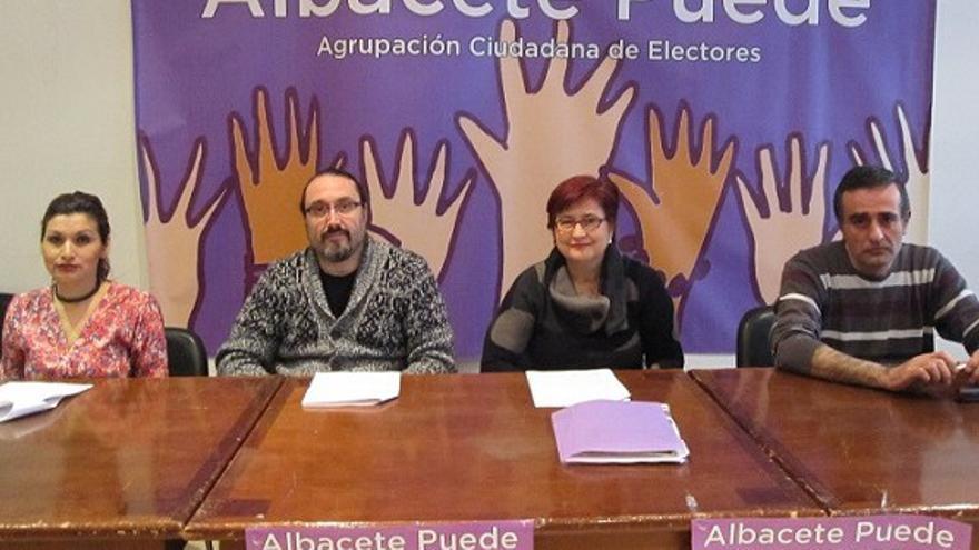 Presentación candidatura Albacete Puede
