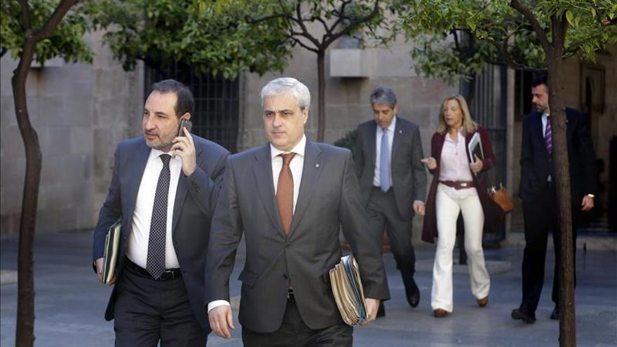 Homs dice que Rajoy ha contribuido al carácter plebiscitario del 27S