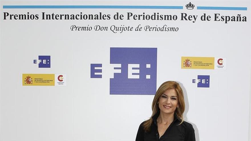 Sandra Golpe: La buena imagen suma puntos en TV pero no es lo primero