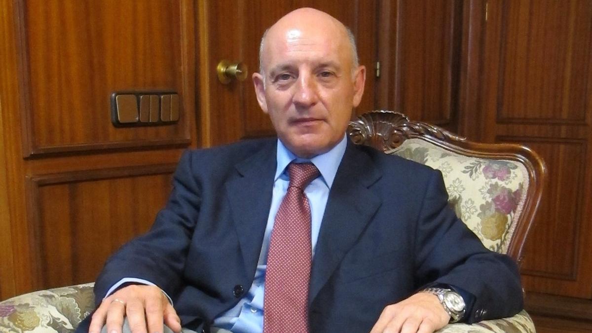 Vicente Rouco, presidente del Tribunal Superior de Justicia de Castilla-La Mancha
