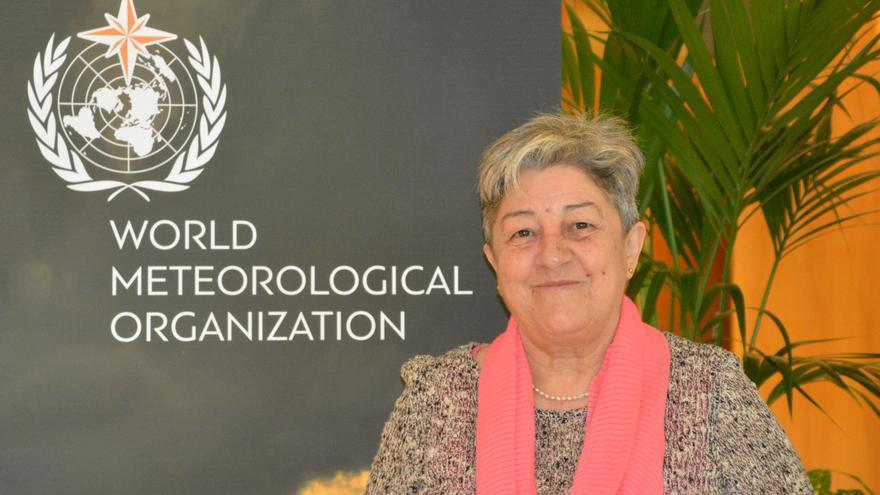 La presidenta de la Comisión de Climatología de la Organización Meteorológica Mundial, Manola Brunet