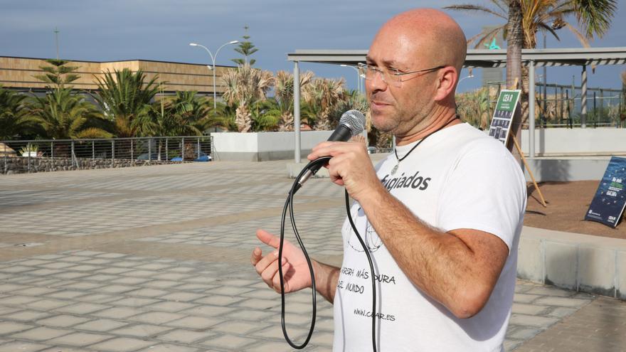 El coordinador de CEAR Canarias, Juan Carlos Lorenzo.