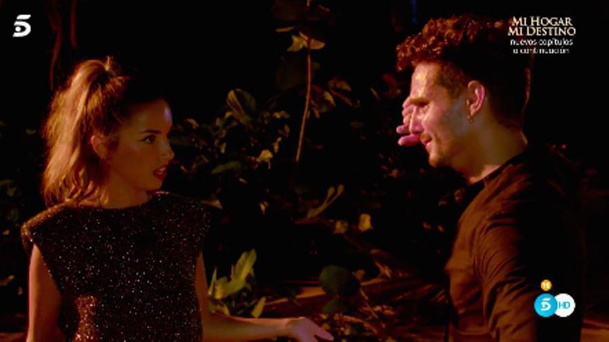 Lucía y Manuel en 'La isla de las tentaciones 3'