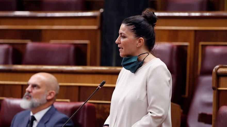 Macarena Olona (Vox), en el Congreso