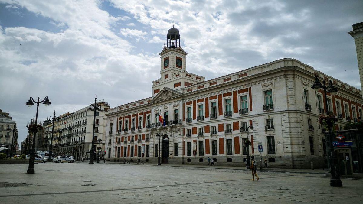 Sede de la Presidencia del Gobierno de la Comunidad de Madrid en la Puerta del Sol de la capital.