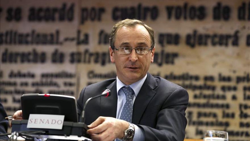 Alfonso Alonso entrega los certificados EFR de conciliación a 81 empresas