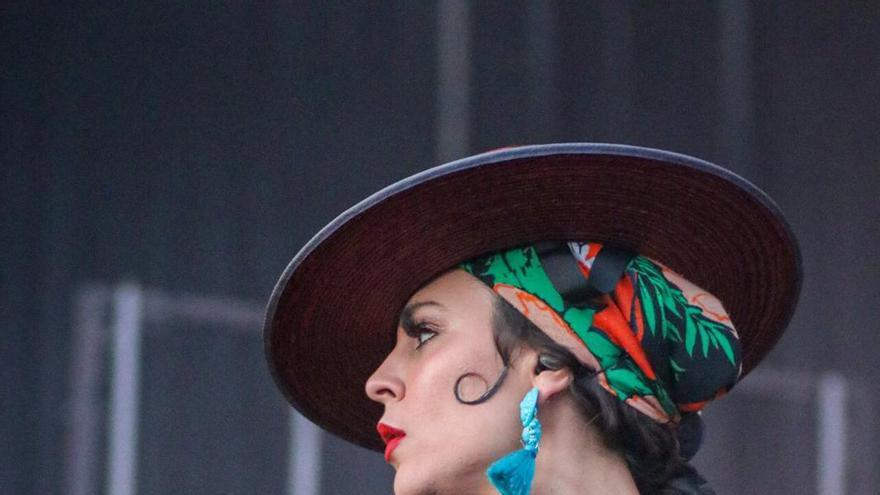 Cristina `Nita´ Manjón, la mitad de Fuel Fandango, en el festival Sonorama Rivera / El Erizo Albino