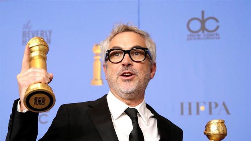 """""""¡Viva Alfonso!"""", la felicitación de Guillermo del Toro a Cuarón por Globos"""