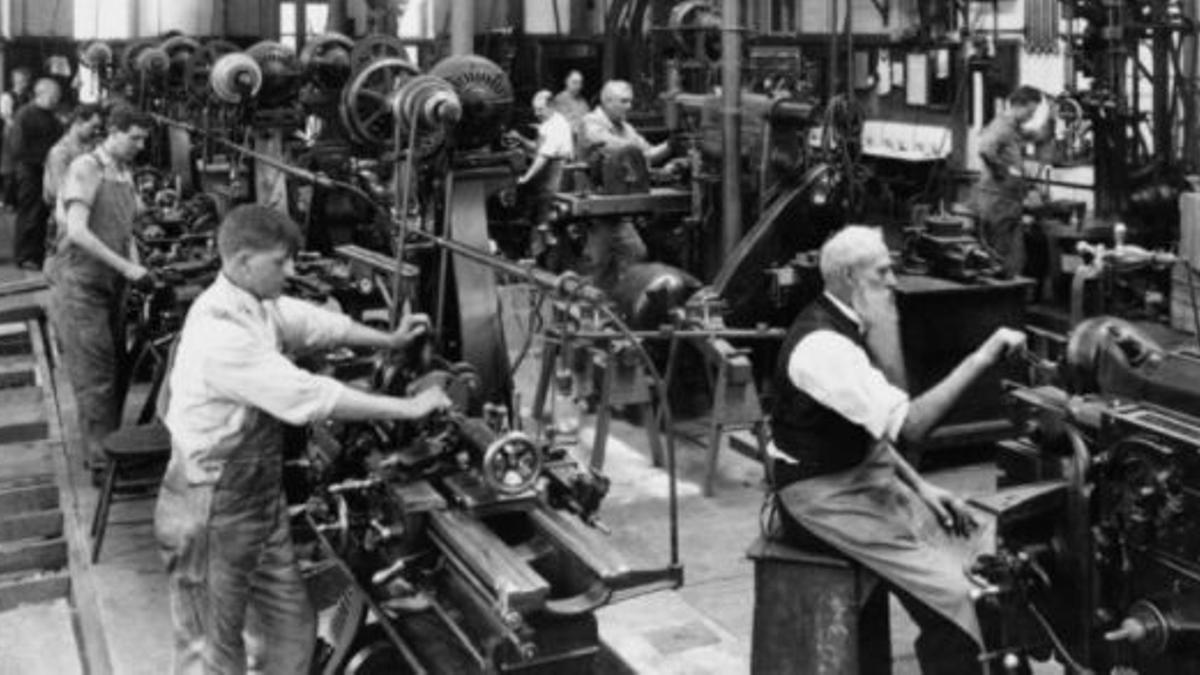 Primeras industrias de la Revolución Industrial