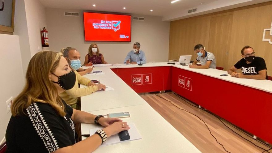 Comisión Ejecutiva Regional del PSOE de Cantabria