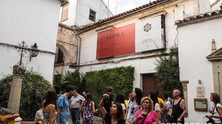 Inmueble donde se construirá el nuevo hotel en la Calleja de las Flores.