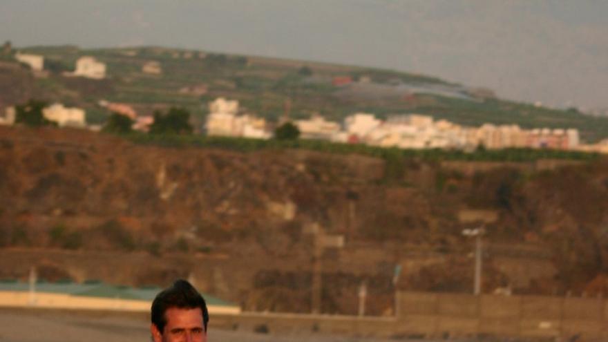 El deportista palmero Ricardo García.