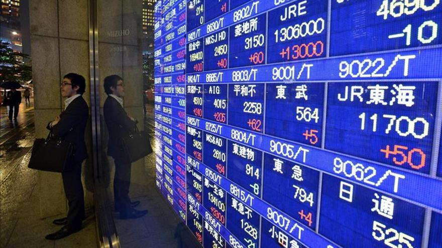 El Nikkei sube 266 puntos, el 1,94 por ciento, hasta las 13.960,04 unidades