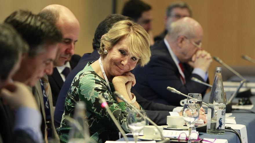 """Esperanza Aguirre tras las declaraciones de Blair sobre Irak: """"Nosotros no estuvimos en la guerra de Irak"""""""