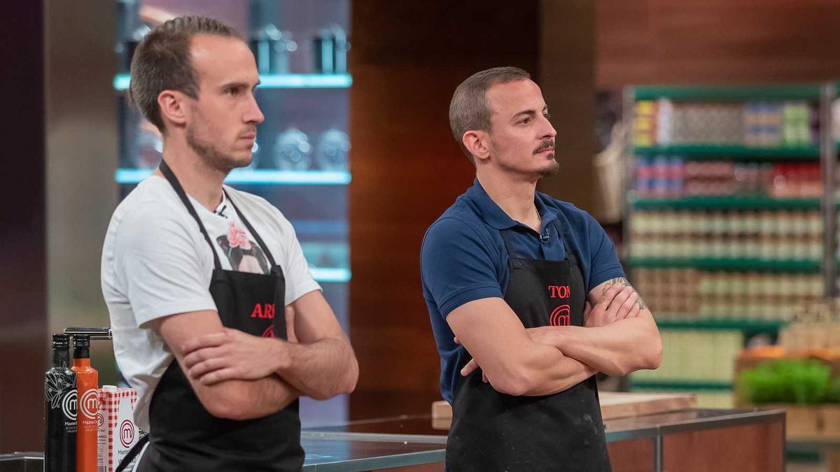Toni abandonó las cocinas de 'Masterchef 9'