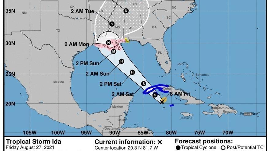 El huracán Ida toca tierra en la Isla de la Juventud, en Cuba