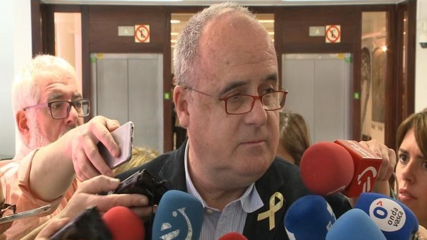 """Egibar dice que, """"con voluntad política"""", la propuesta de nuevo Estatuto tendría encaje legal en la Constitución"""