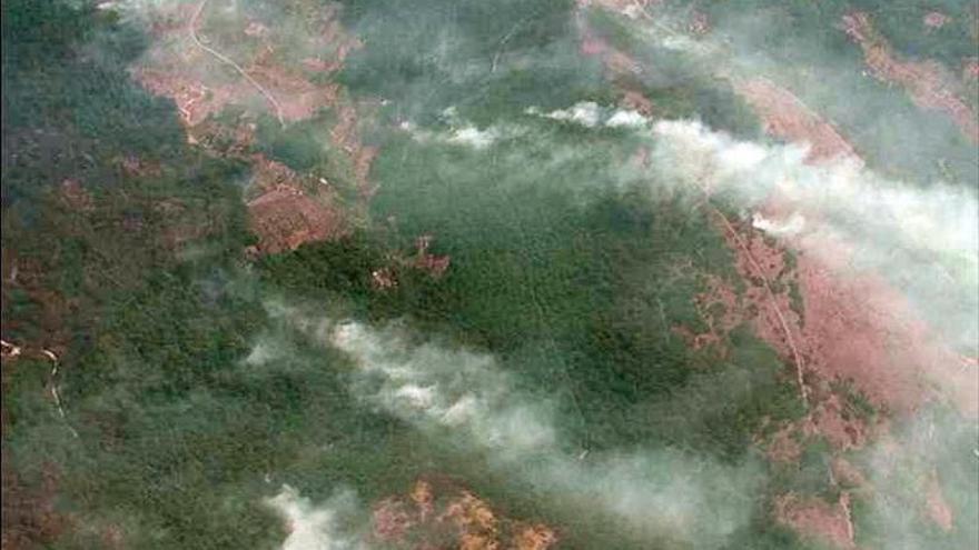 Estabilizado el incendio en Sierra de Gata, aunque sigue activado el nivel 2