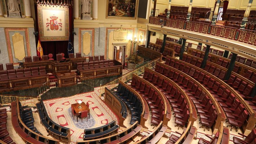 El Congreso se prepara para un Pleno especial al que sólo asistirá una veintena de diputados