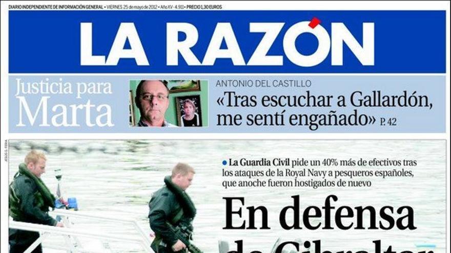 De las portadas del día (25/05/2012) #10