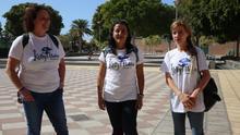 Tres representantes de Kellys Unión Tenerife.