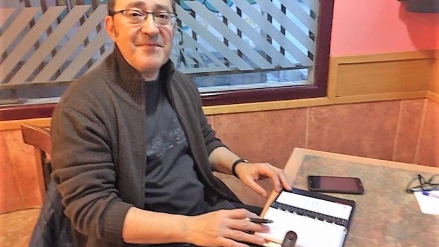 El antropólogo social, Jesús Prieto.