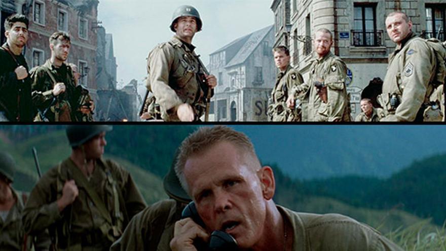 Salvar al soldado Ryan. La delgada línea roja.