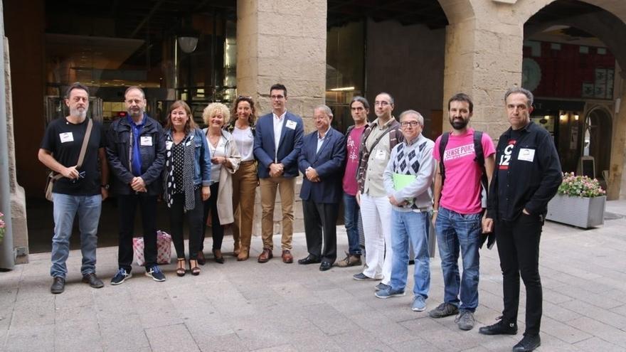 El Comú, PDeCAT, ERC y la CUP  no asistirán a actos del Ayuntamiento de Lleida como rechazo al silencio del alcalde
