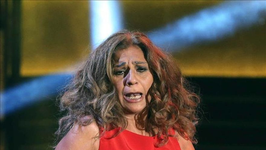 Lolita Flores cancela una obra teatral en Valladolid por enfermedad
