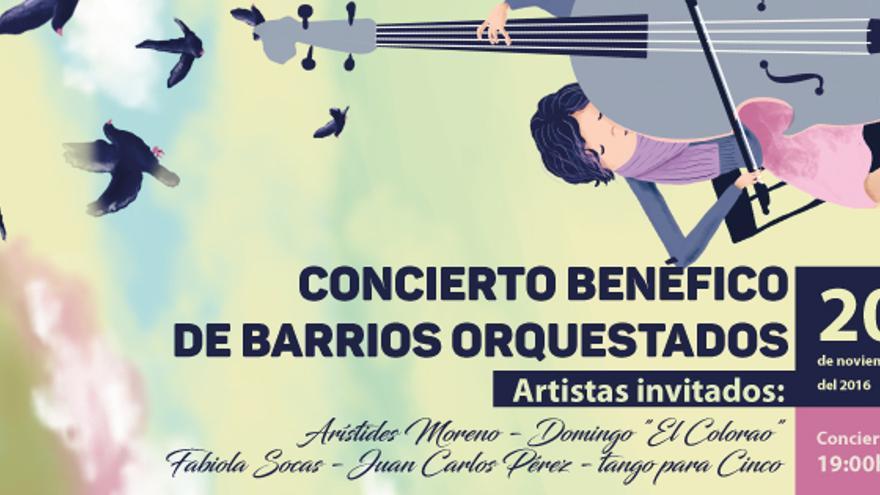 Concierto benéfico de Barrios Orquestados