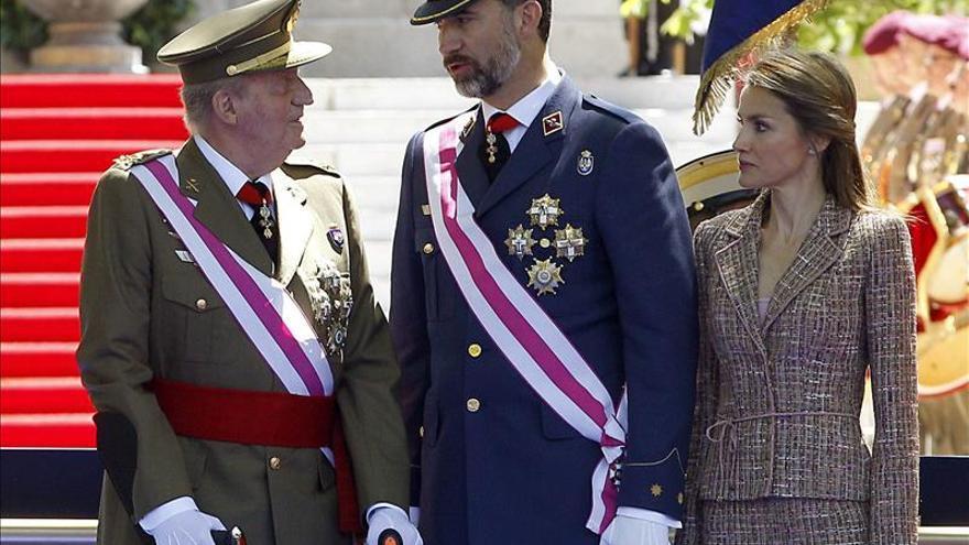 El Rey preside el Día de las Fuerzas Armadas, su despedida como jefe supremo militar