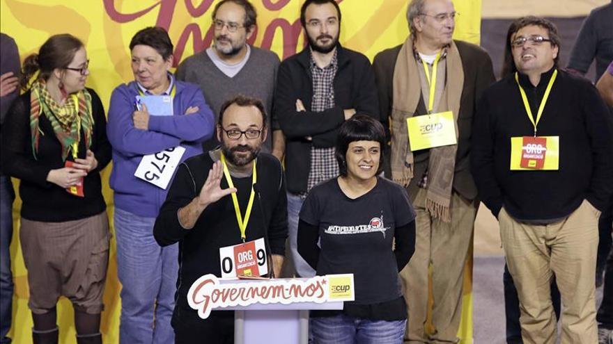 La CUP convoca una Asamblea Nacional el 27 de diciembre para decidir sobre Mas