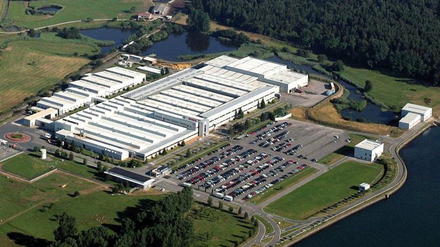 Fábrica de Robert Bosch en Treto (Cantabria).