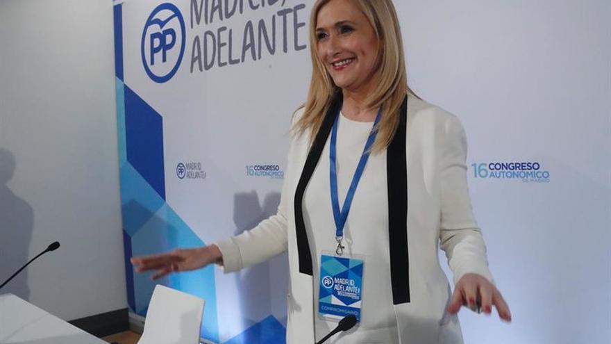 Cifuentes, a Puigdemont: Es contradictorio negociar e imponer condiciones