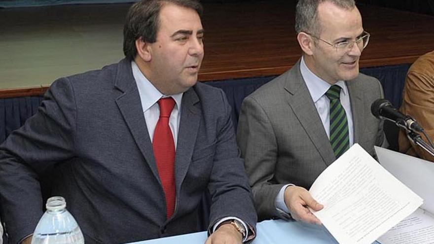 Negreira y Vázquez (derecha), en una imagen de archivo