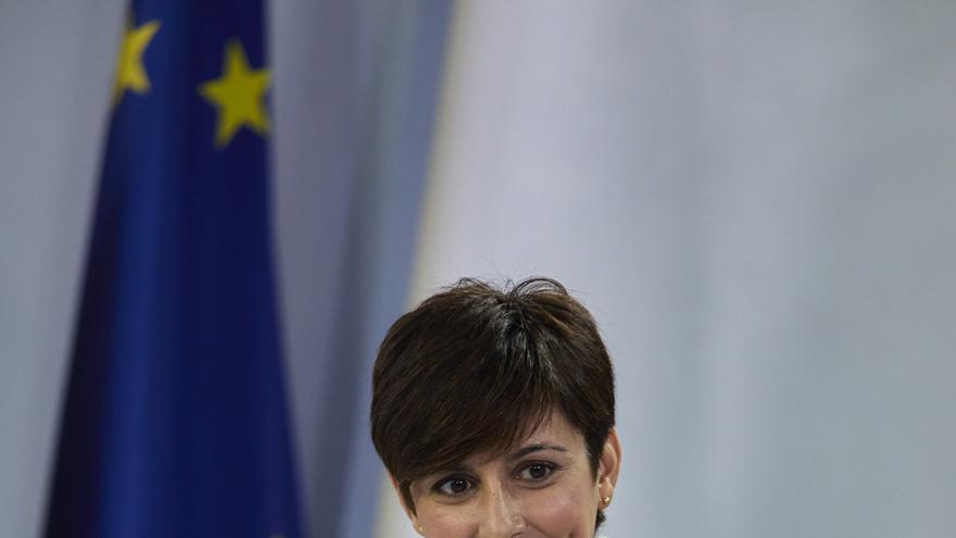 La ministra Portavoz, Isabel Rodríguez