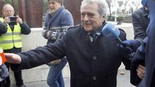 El expresidente de la Diputación y del PP de Valencia a su llegada a los juzgados