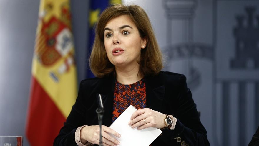 """Santamaría dice que Hacienda será quien determine si Monedero """"ha cumplido correctamente"""" con sus obligaciones"""
