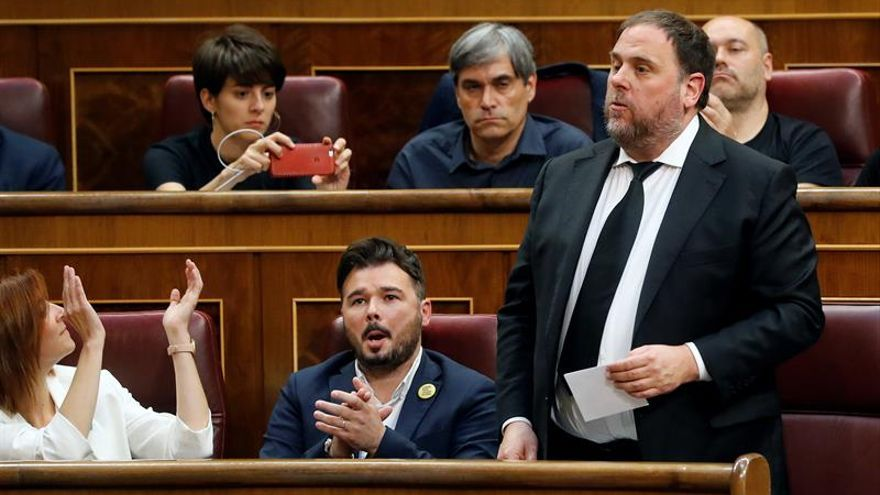 El Supremo activa el trámite para preguntar a Luxemburgo sobre la inmunidad de Junqueras