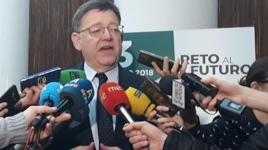 Ximo Puig, tercera baja confirmada en el Comité Federal del PSOE junto a Díaz y Armengol
