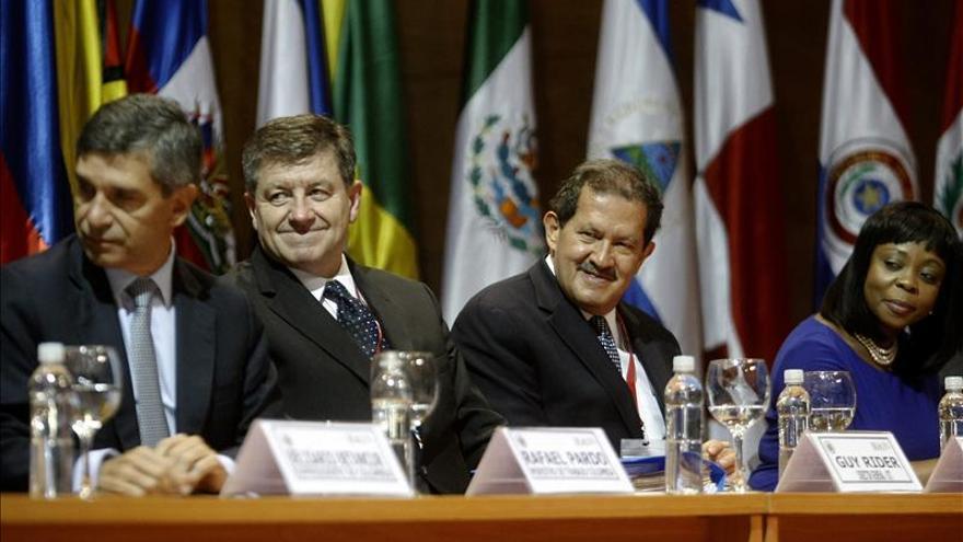La Conferencia ministerial de Trabajo expresa su apoyo al proceso de paz colombiano